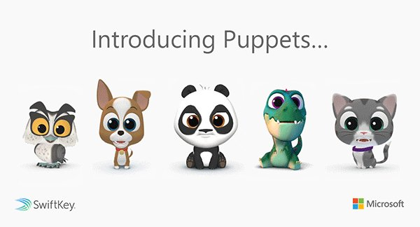 Record yourself as a 3D panda, cat, dog, owl or dinosaur, and @SwiftKey will use #AI to mirror your head movements and facial expressions in real-time: http://msft.it/6014TzNLg