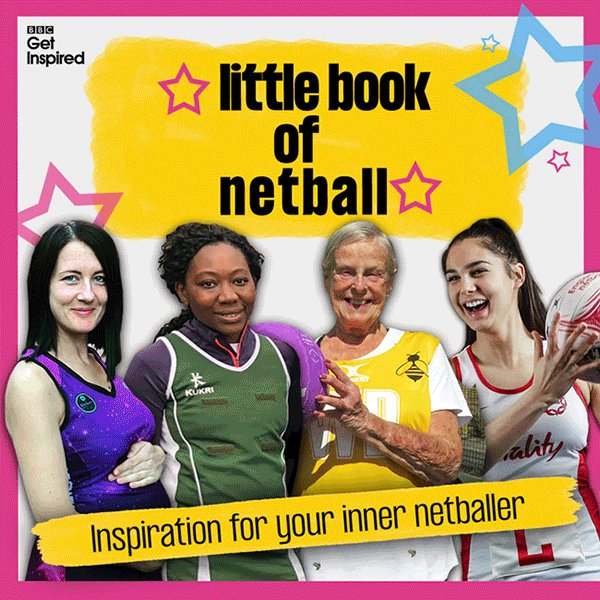 Want to give netball a go but need a little bit of motivation?Look no further!Tap on the gif to stop on a quote from the 'Little Book of Netball' and #GetInspired!Start NOW! 👉http://bbc.in/2JIRwcA#NetballWorldCup #bbcnetball