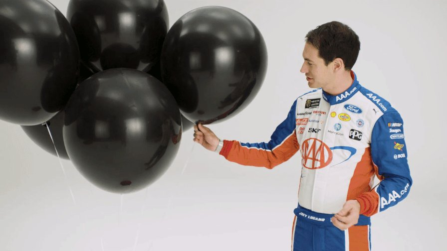 . @joeylogano can try to explain what a Mechanic Reveal Party is, but we think it is easier to use AAA.com/AAR. Talk to a AAA agent this weekend at @NASCAR #Foxwoods301 to find out more about the benefits of a AAA membership! View the video at bit.ly/2LswhzU