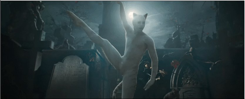 GIF reactions to the #CatsMovie trailer - GO!