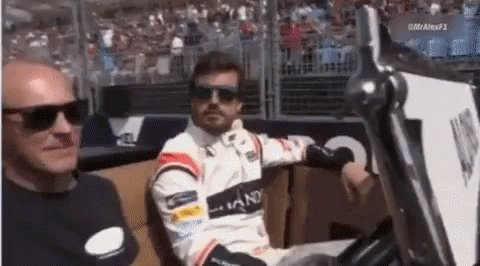 Was sweet watching @alo_oficial pass a F...