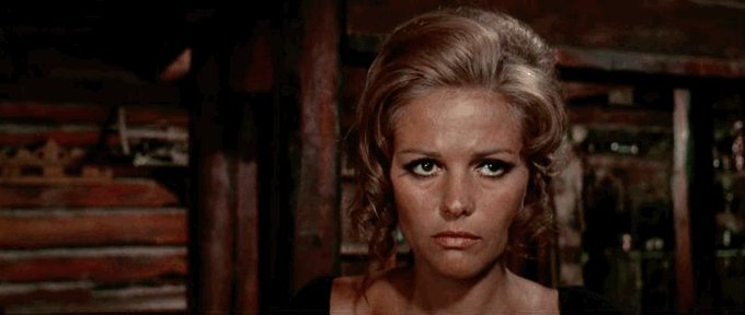 Happy 80th birthday to Claudia Cardinale -  Once Upon A Time In The West (1968)
