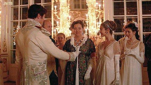 And happy 29th birthday to our countess Natasha Rostova, wonderful Lily James!