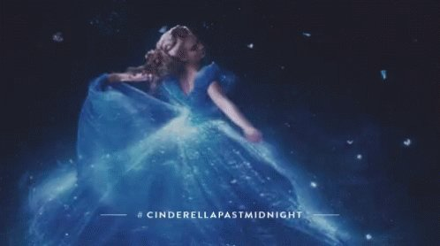 Cinderella s dress is so beautiful! Happy Birthday Lily James