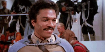 Happy Birthday Billy Dee Williams! Thank you for making us all want to wear space capes.