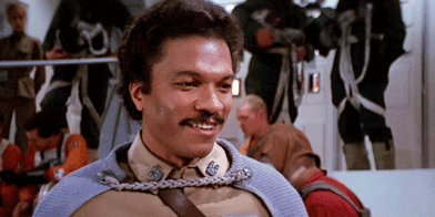 Happy Birthday to Lando Calrissian, Billy Dee Williams!