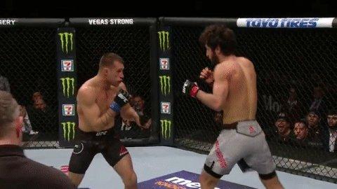 UHHHHH, @KyleBochniak is not human ... #UFC223