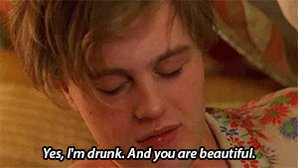 Yes, we re not drunk. And you are beautiful. Happy birthday, Michael Pitt !