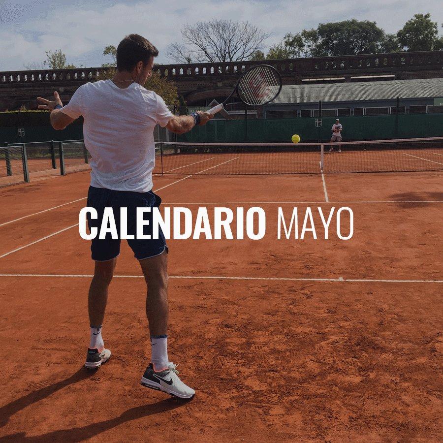 Hola a todos! Les comparto mis próximos torneos. Nos vemos pronto!! 🔜 👋 Here's my schedule for the clay season. See you soon!!