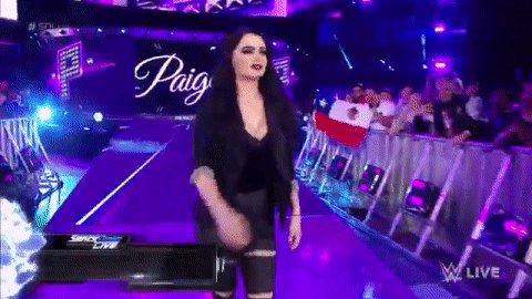 This is her house.  Meet your new #SDLive GM... @RealPaigeWWE!