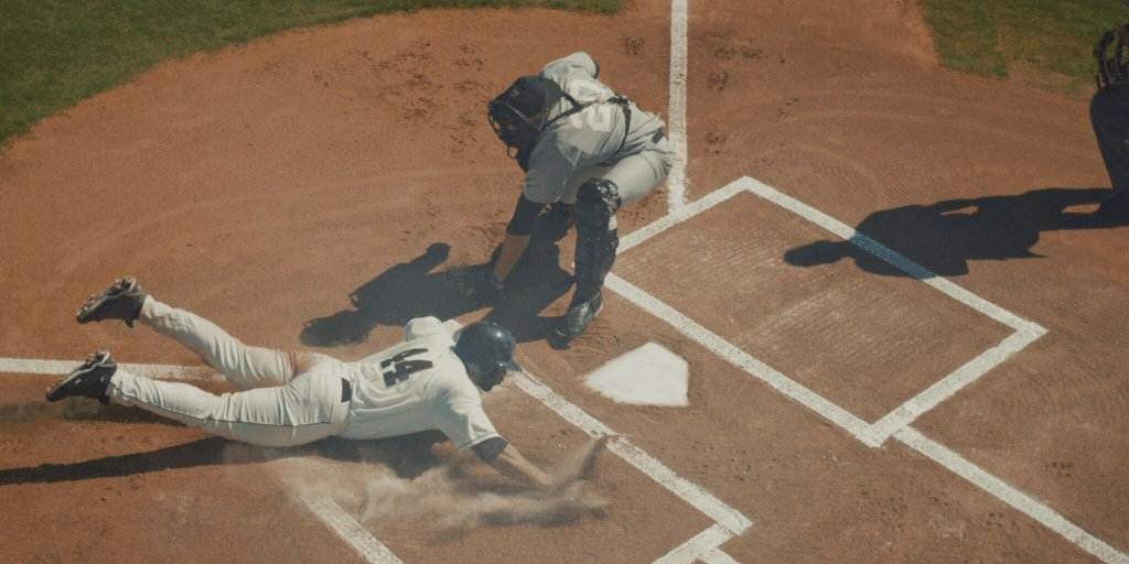 sliding into the weekend like... #MLB