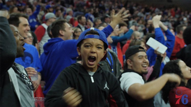 Thinkin bout playoff basketball. #PhilaUnite x #HereTheyCome