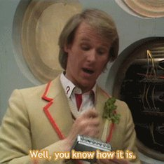 Happy Birthday to the celery-wearing, cricket playing, Peter Davison A.K.A the 5th