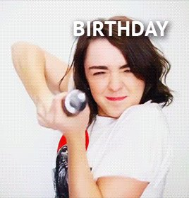 Happy Birthday Maisie Williams