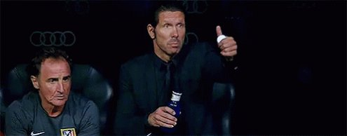 Thumbs up if it s your birthday! Many happy returns, Diego Simeone.
