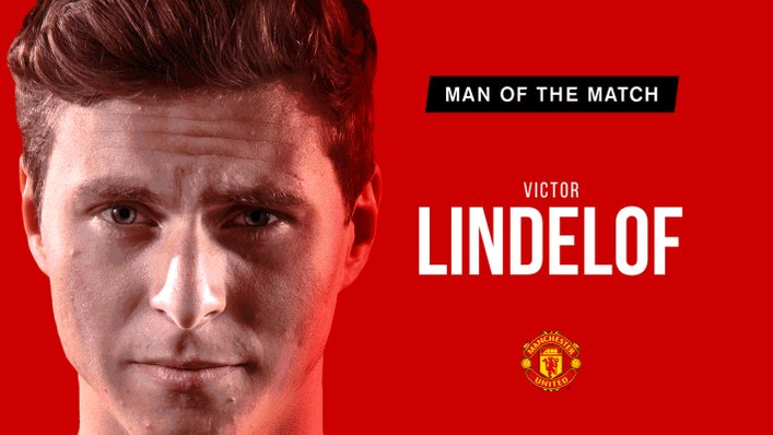 Retweet to vote for @vlindelof as your #MUFC Man of the Match.