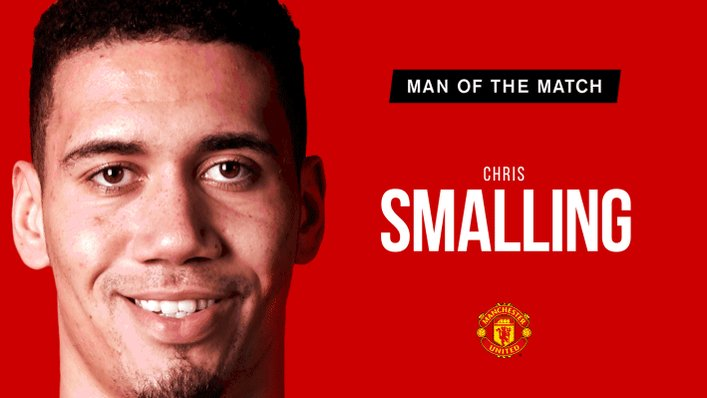 Retweet to vote for @ChrisSmalling as your #MUFC Man of the Match.