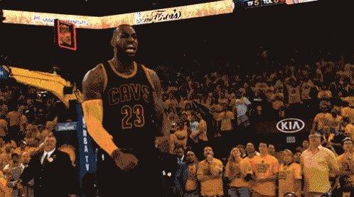 Live footage of Playoff Lebron  #NBAPlayoffs