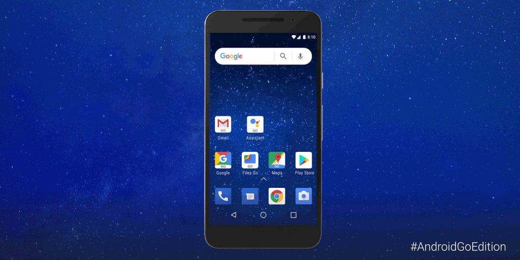 On your mark, get set, #AndroidGoEdition. Enjoy a reimagined set of Google Apps, like Assistant Go, designed from the ground up for people everywhere to enjoy: goo.gl/14V9DZ