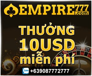 Image for the Tweet beginning: Empire777 Live nhà cái có
