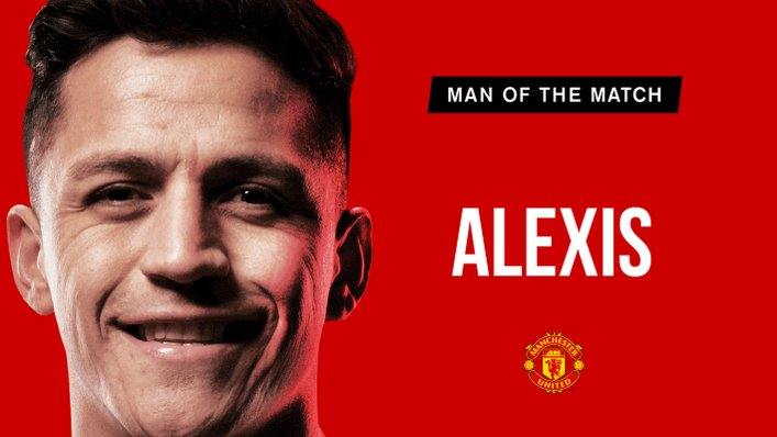 Retweet to vote for @Alexis_Sanchez as your #MUFC Man of the Match.