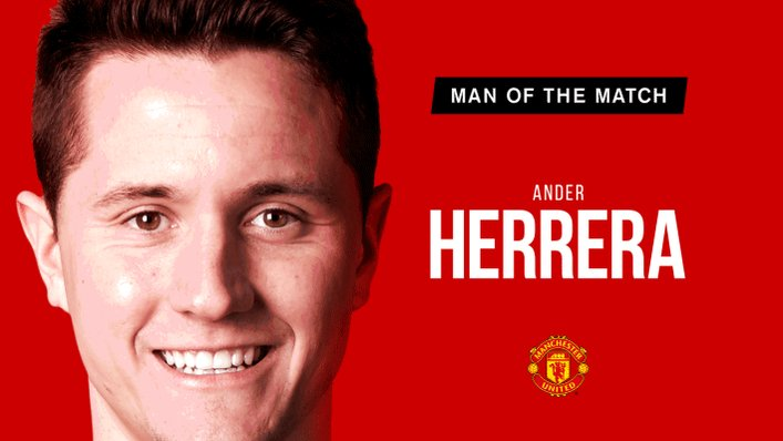 Retweet to vote for @AnderHerrera as your #MUFC Man of the Match.