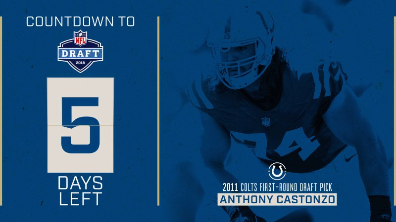 5⃣ days! #ColtsDraft Let's see those pick #6 predictions ⬇️
