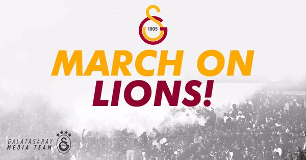 46' - Galatasaray gets the match restarted. #MarchOnLions!