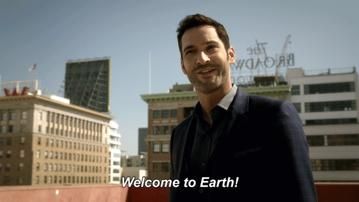 Let's keep our planet beautiful. Reduce, reuse, recycle. #EarthDay #Lucifer