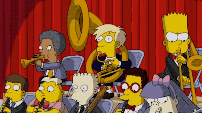 Theres a jazzy new episode of #TheSimpsons tonight at 8/7c! 🎶🎺