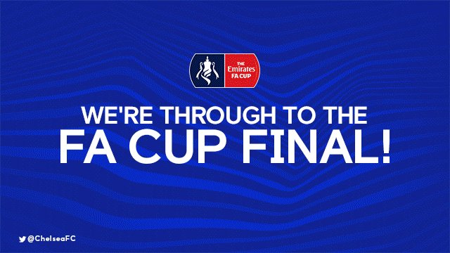 WE'RE THROUGH TO THE FA CUP FINAL! 🙌  #C...