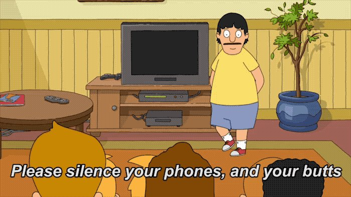No 📱, no 💨, just #BobsBurgers. Watch the latest episode now: fox.tv/WatchBB