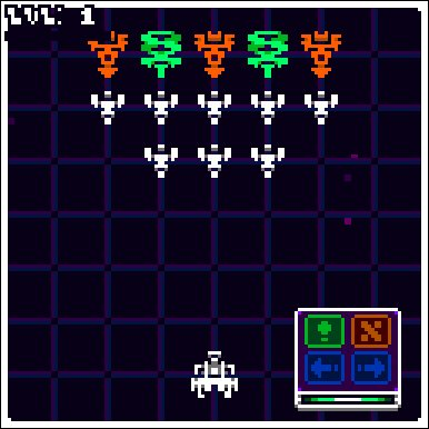 My #LDJAM 41 entry 'Turn-Based Invaders from Space!' is out on @itchio! hacksawunit.itch.io/turn-based-inv…