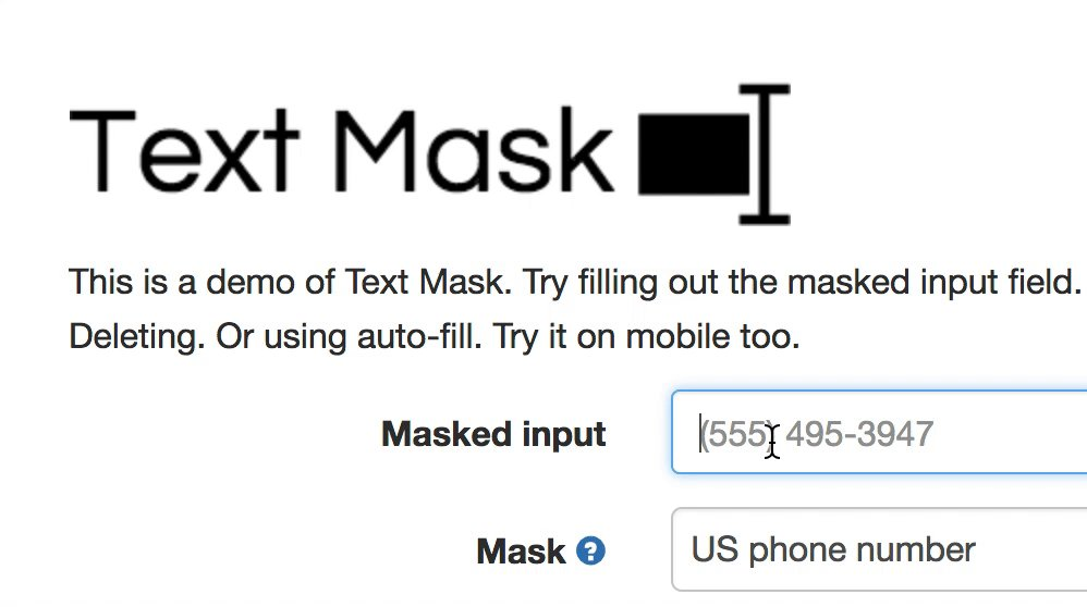 Formik Input Mask