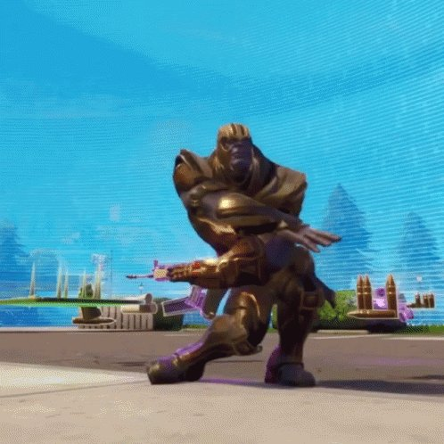 Stay tuned! Weve got a TEAM UUDD Stream coming later this afternoon as the home crew tries their best to not fade away against the wielder of the Infinity Gauntlet, THANOS, in Fortnite!