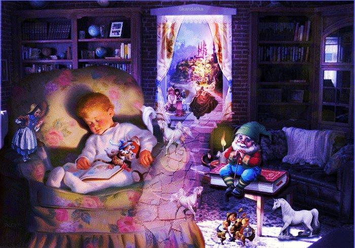 Картинки детские добрый вечер