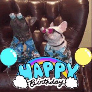Happy birthday, my dearest Rami Malek and twins!