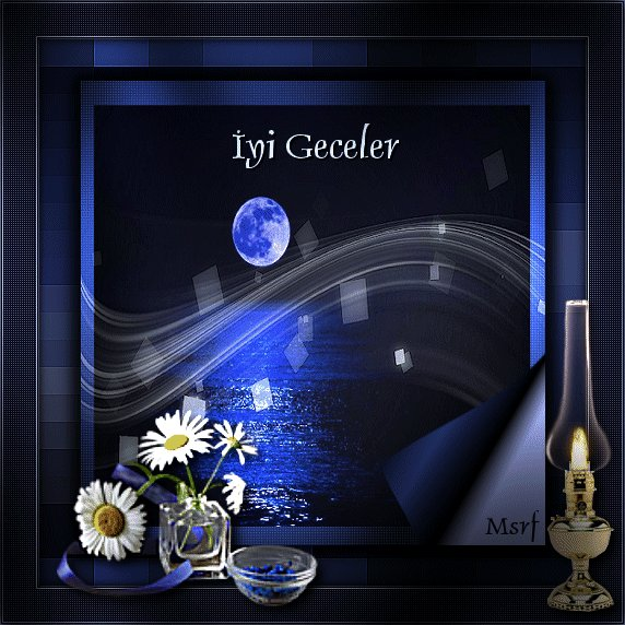 Открытка по турецки спокойной ночи