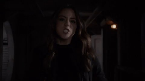 Well, thats one way to make an entrance. #AgentsofSHIELD