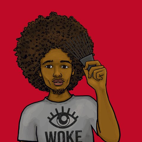 Are you, or are you not, going to let your fro' grow baaaaaack!😉😁#FroLove #FroPower