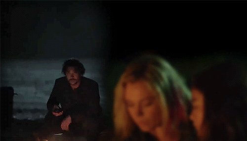the hostage taker & his girlfriend's photo on #Bellarke