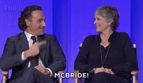 Happy Birthday Melissa McBride!!