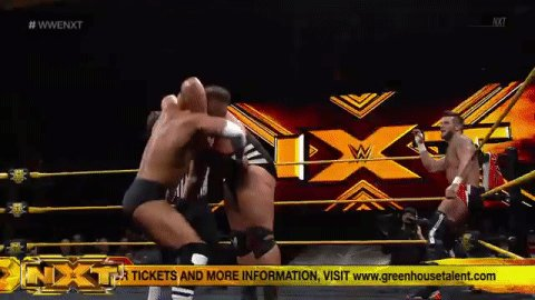 If at first you dont succeed... try, try again! #WWENXT @WWENickMiller @ShaneThorneWWE
