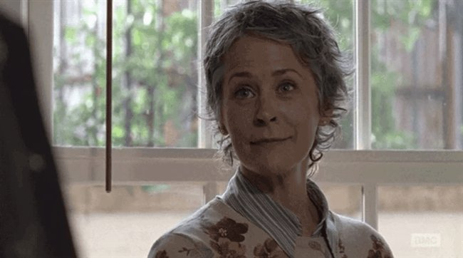 Happy birthday to the most badass of all badasses, Carol herself Melissa McBride!