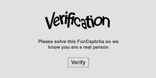 Roblox Verification Please Solve This Challenge Arkose Labs On Twitter Hi Kiran It Sounds Like You Saw A More Challenging Funcaptcha Than Usual This Isn T Common And Your Efforts Weren T In Vain Solving The Challenge Informed