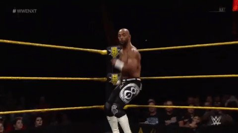 The ONE AND ONLY @KingRicochet!!! #WWENXT