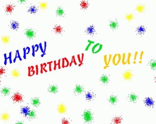 Happy Birthday cher Daniel