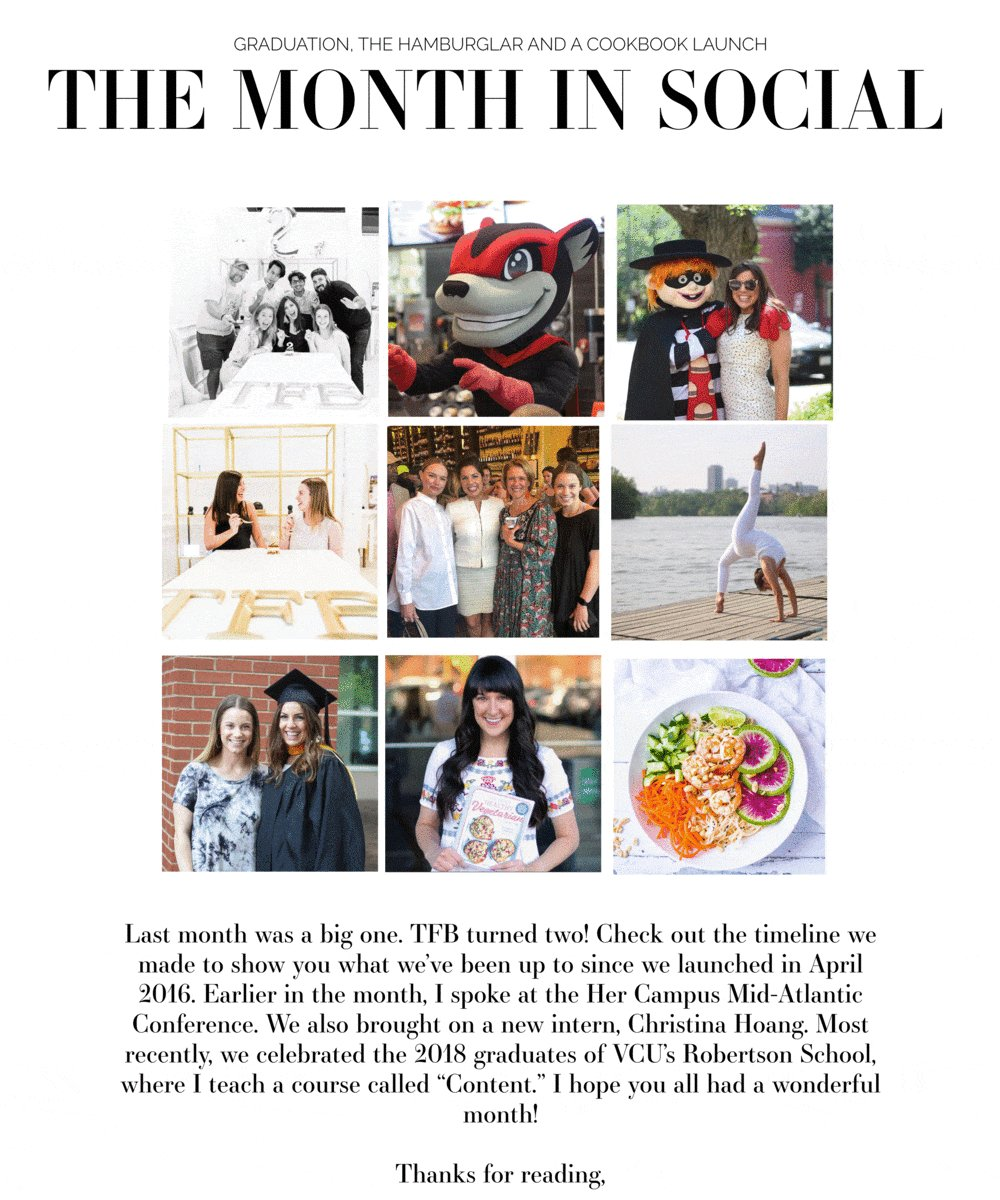 Image for the Tweet beginning: The Month in Social is