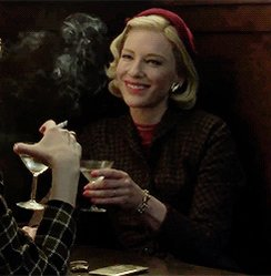 Today is Sofia Coppola AND Cate Blanchett s birthday. Happy Birthday, icons! I ll raise a glass, Carol style