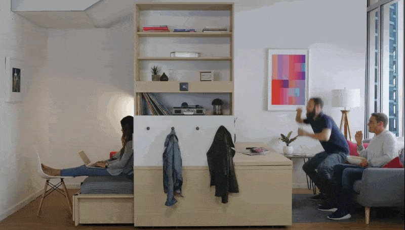 This robotic furniture system could be coming to an apartment building near you. https://t.co/GdOZyGExdM